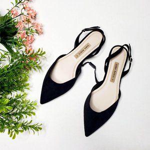 NWT Zara Size 6 Slingback D'Orsay Ballet Flats